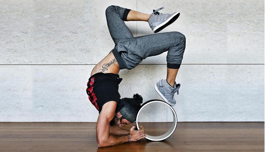 چرخ یوگا Yoga wheel