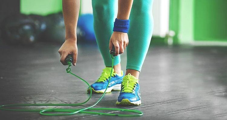 طناب ورزشی ساده